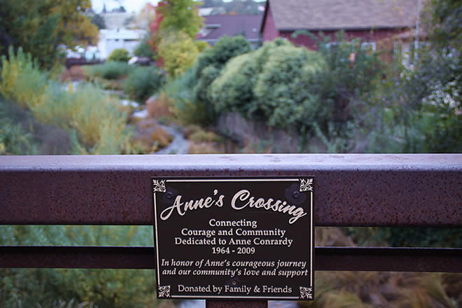 anne's crossing bridge in sutter creek ca