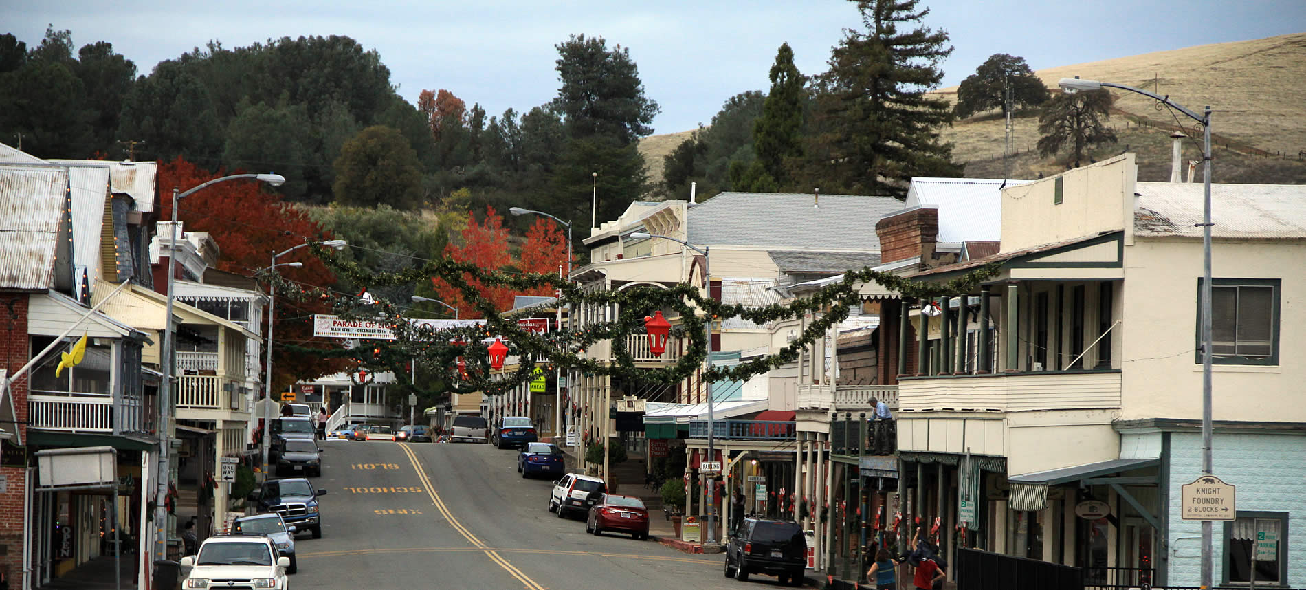 sutter creek california gold country town in amador county