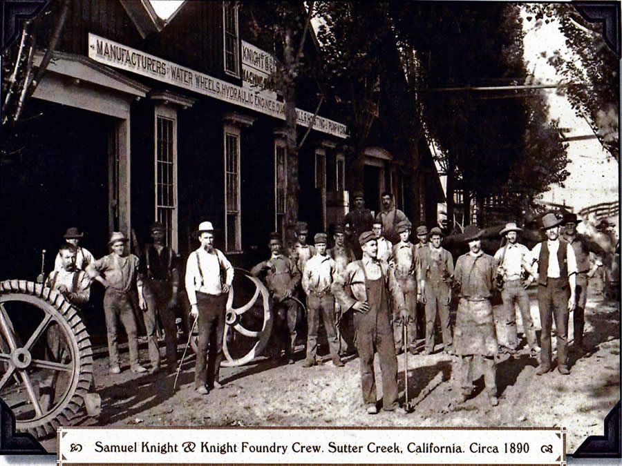 knight foundry sutter creek historic site located next to eureka street inn